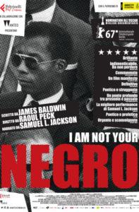 locandina I Am Not Your Negro