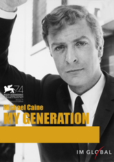 michael caine my generation poster