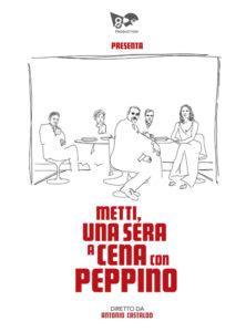 locandina Metti una sera a cena con Peppino